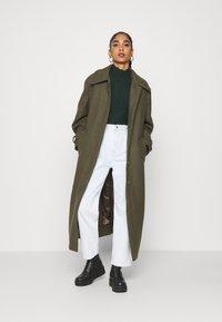 Weekday - RICKY COAT - Mantel - khaki green - 1