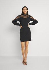 Trendyol - SIYAH - Koktejlové šaty/ šaty na párty - black - 1