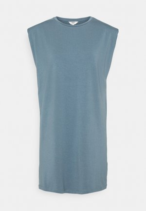 OBJSTEPHANIE JEANETTE - Jersey dress - blue mirage