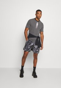 adidas Performance - AEROREADY PRIMEBLUE TRAINING SHORTS - Sports shorts - dovgry/grefou/black - 1