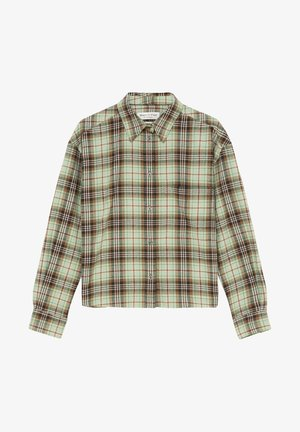 CROPPED BOXY  - Chemisier - green