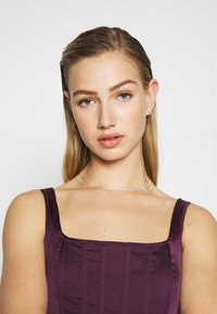 Missguided - CORSET - Bluser - burgundy - 3