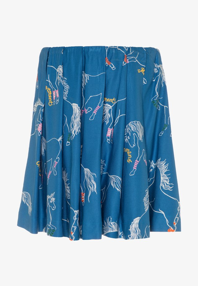 BETHY - Pleated skirt - blue