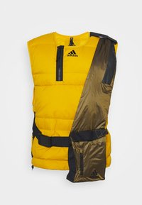adidas Performance - URBAN OUTDOOR VEST - Väst - gold - 5