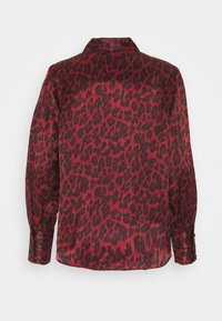 The Kooples - CHEMISE LEOPARD - Blůza - purple - 1