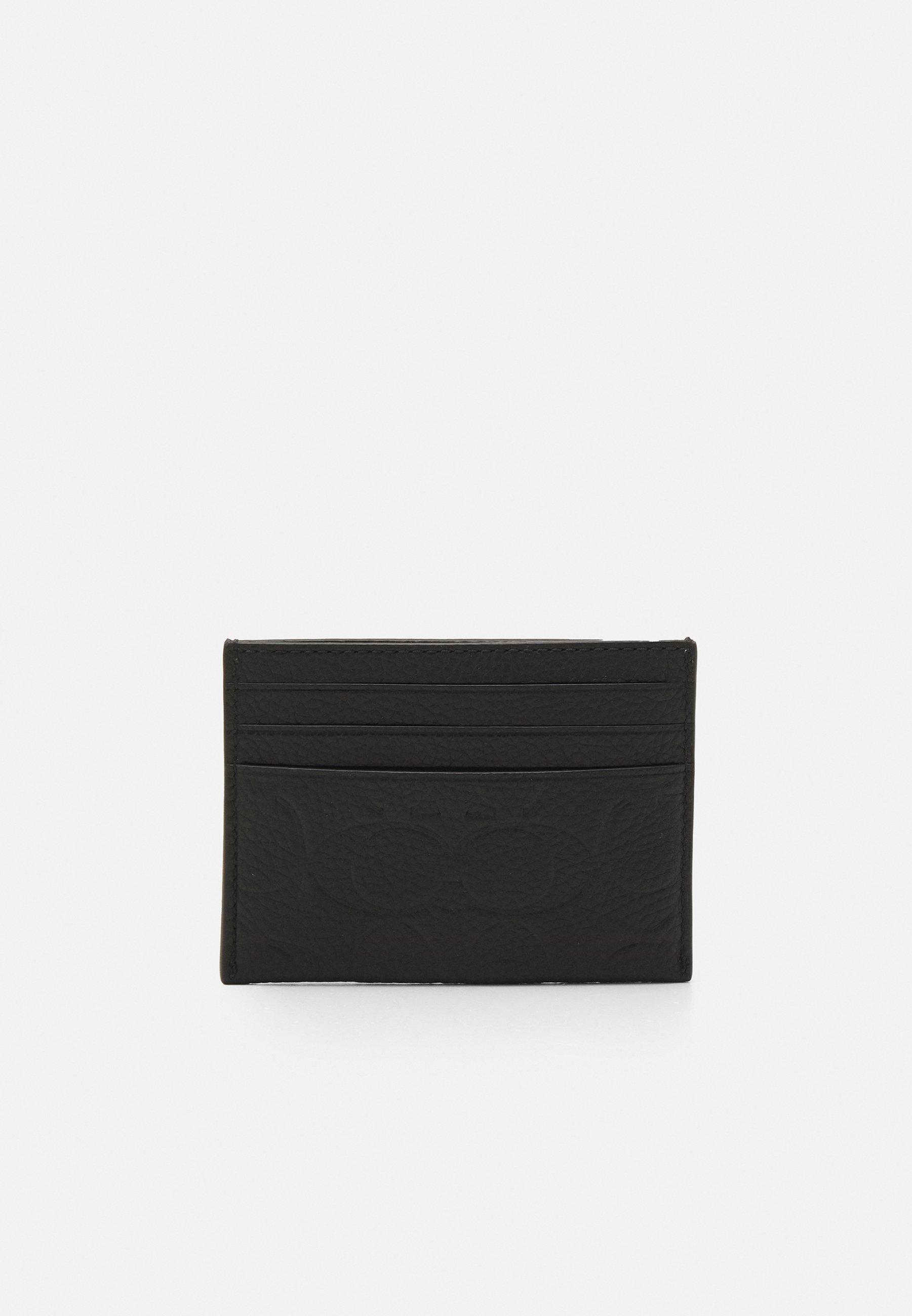 Donna FLAT CARD CASE IN SIGNATURE UNISEX - Portafoglio