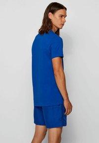 BOSS - RN - T-shirt imprimé - open blue - 1