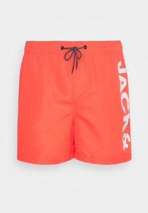 JJIBALI JJSWIMSHORTS LOGO - Swimming shorts - hot coral