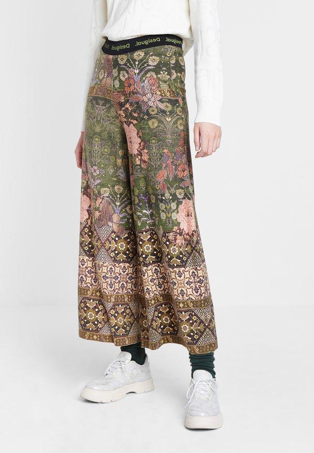 FRIDA - Trousers - green