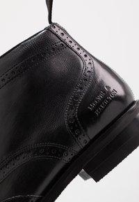 Melvin & Hamilton - FREDDY - Elegantní šněrovací boty - remo black - 5