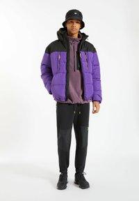 PULL&BEAR - Winter jacket - purple - 1