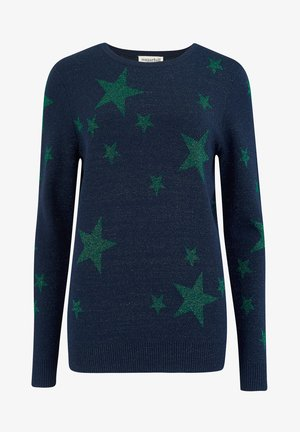 SUGARHILL BRIGHTON SWEATER RITA SHIMMERING STAR - Jumper - navy