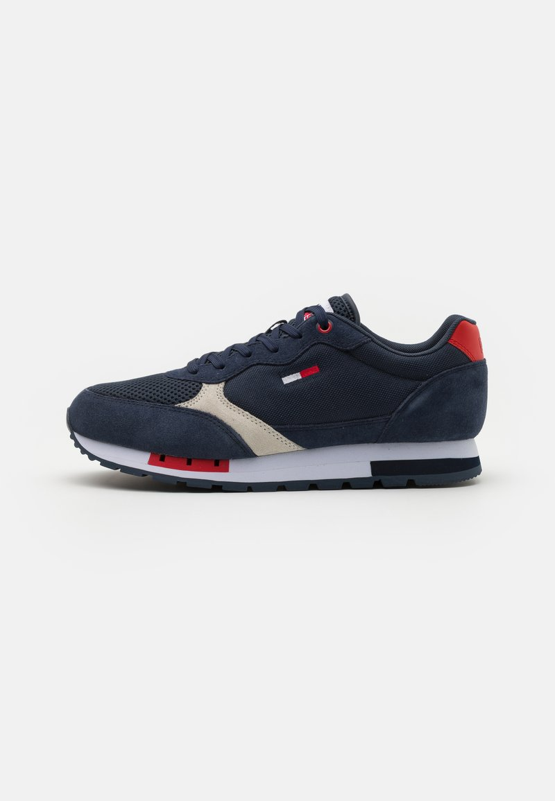 Tommy Jeans - RETRO RUNNER MIX - Sneakers basse - twilight navy