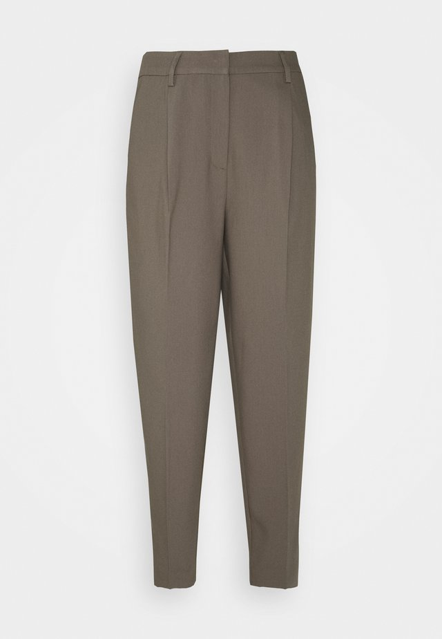 CINDY DAGNY PANT - Stoffhose - bungee brown