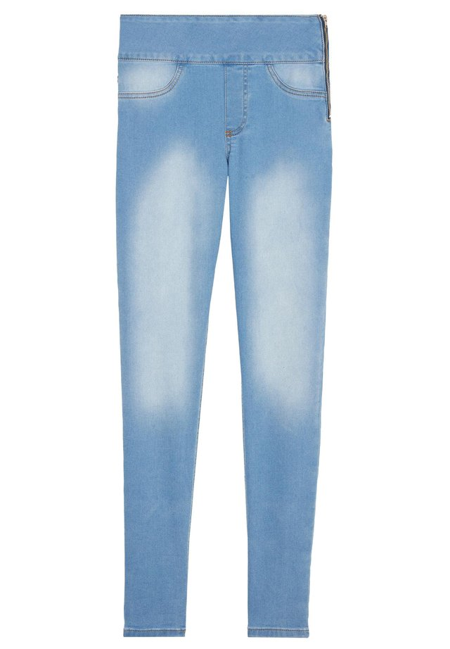 MIT HOHER TAILLE - Jeans Skinny - blau - 4593 - blue jeans light