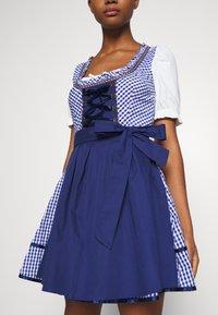 ONLY - ONLLOLA LACE UP DIRNDL DRESS SET - Dirndl - cloud dancer/blue - 5
