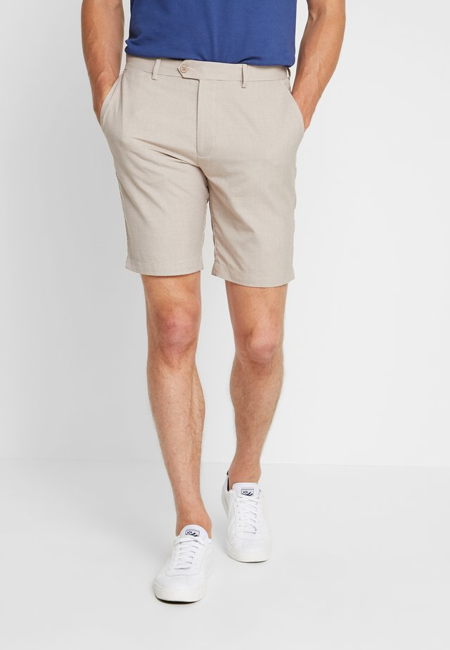 BEXHILL DOGTOOTH  - Shorts - stone
