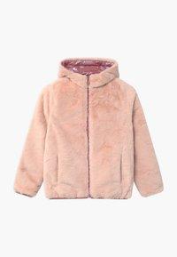 Abercrombie & Fitch - COZY PUFFER - Zimní bunda - pink shine - 4