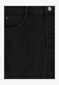 WITH VERY HIGH WAIST - Skinny džíny - black
