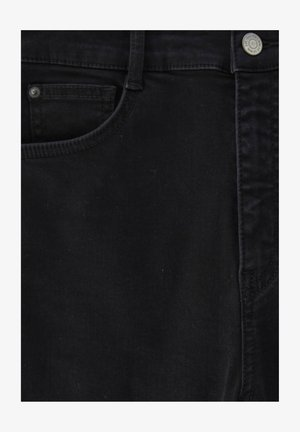 WITH VERY HIGH WAIST - Jeans Skinny Fit - black
