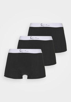 SMALL SIGNATURE ESSENTIAL BRIEFS 3 PACK - Pants - black