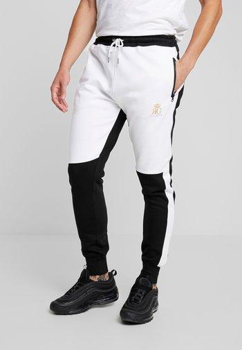GLIMCO - Pantaloni sportivi - black/white