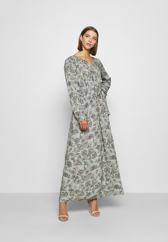 ONLVIRGINIA LIFE LONG DRESS - Maxikjoler - chinois green