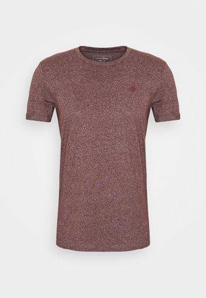Basic T-shirt - decadent bordeaux