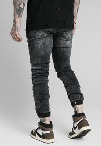 SIKSILK - ELASTICATED CUFF - Jeans slim fit - washed grey - 2
