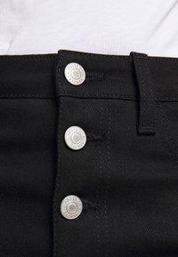 House of Dagmar - DEVINE - Straight leg jeans - stay black - 5