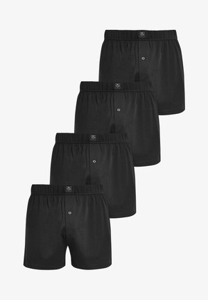 LOOSE FIT FOUR PACK - Boxershort - black