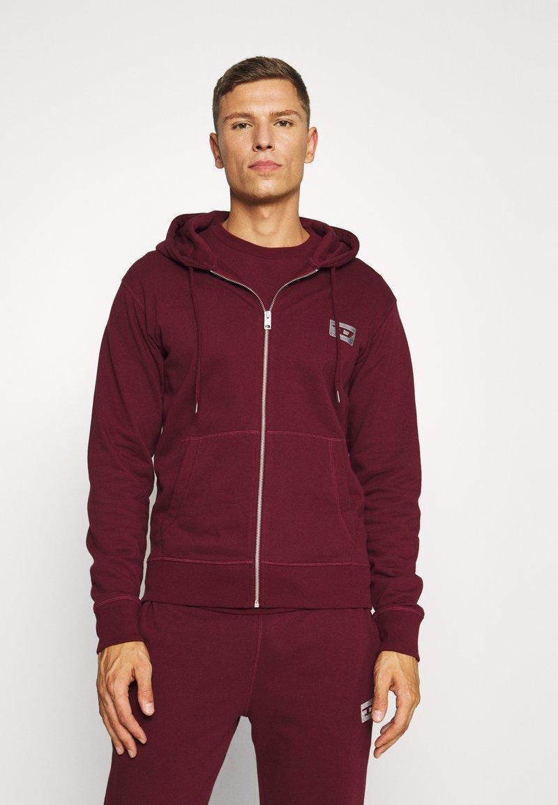 Diesel - UMLT BRANDON - Pyjama top - burgundy