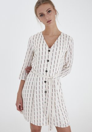 Shirt dress - tapioca