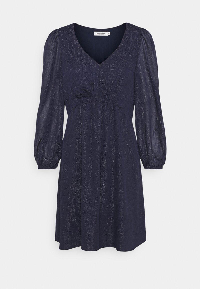 NAF NAF - STRIPY - Cocktail dress / Party dress - bleu nuit