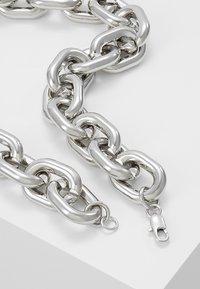 ERASE - CHUNKY LINK - Náhrdelník - silver-coloured - 2