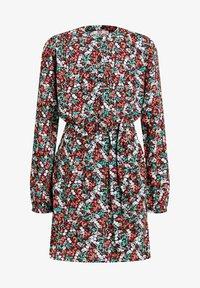 WE Fashion - MEISJES MET ALL-OVER BLOEMENDESSIN - Robe chemise - multi-coloured - 0