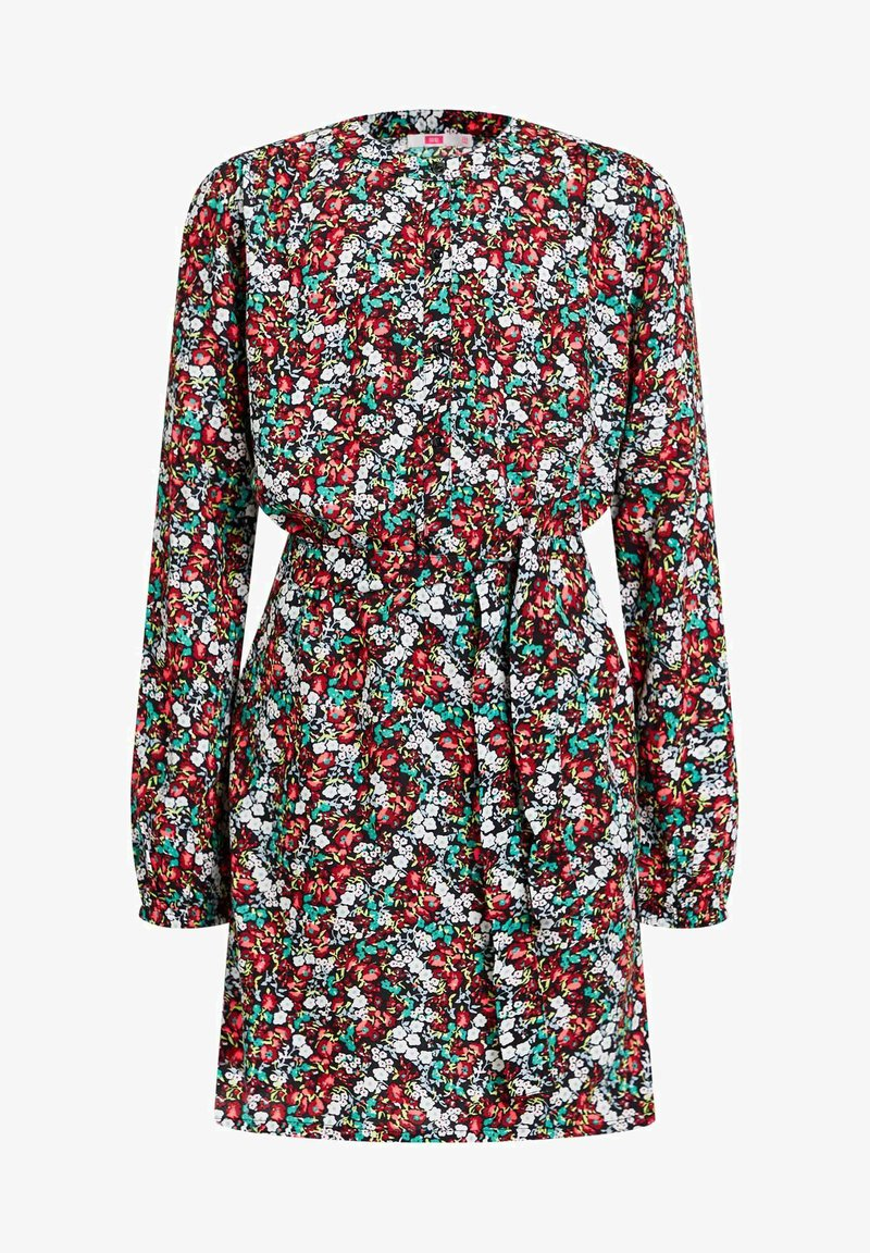 WE Fashion - MEISJES MET ALL-OVER BLOEMENDESSIN - Robe chemise - multi-coloured