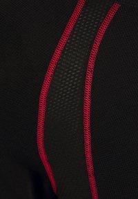 LÖFFLER - AIRVENT TRANSTEX LIGHT - Funktionsshirt - black/red - 2