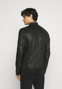 Strellson - DRIVER - Leather jacket - black - 2