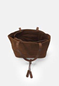 Zign - LEATHER - Tote bag - cognac - 2