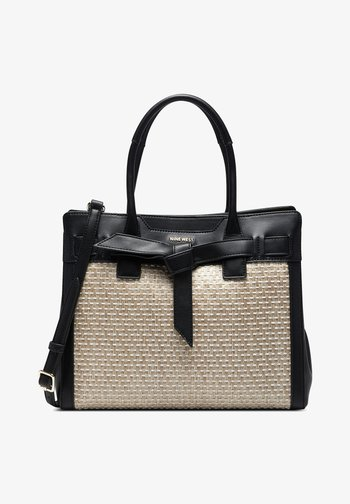GABRIELLA - Tote bag - natural black