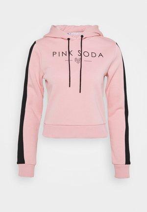 YARROW HOODIE - Felpa con cappuccio - pink black