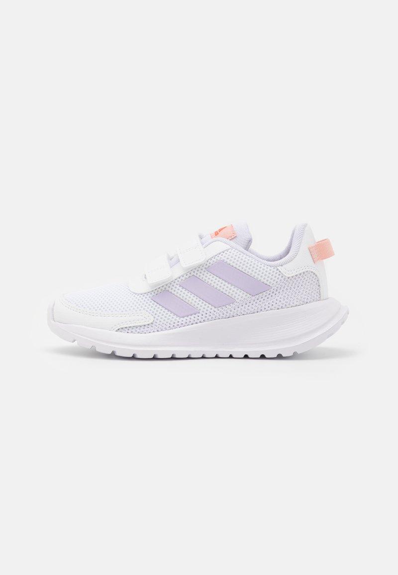 adidas Performance - TENSAUR RUN UNISEX - Hardloopschoenen neutraal - footwear white/purple tint/vapour pink