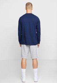adidas Originals - 3 STRIPES UNISEX - Long sleeved top - collegiate navy/bluebird - 2