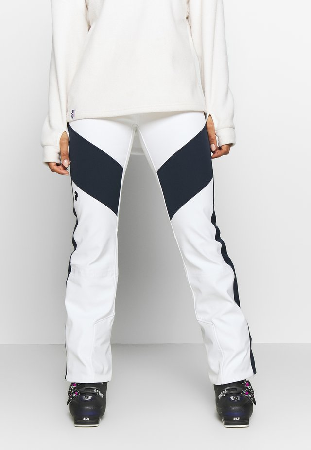 SILVAP  - Snow pants - offwhite