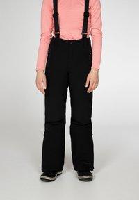 Protest - SUNNY JR  - Snow pants - true black - 0