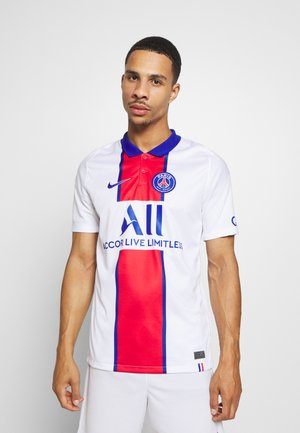 PARIS ST GERMAIN - Klubtrøjer - white/old royal