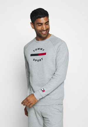 PRINTED CREW - Sweater - grey