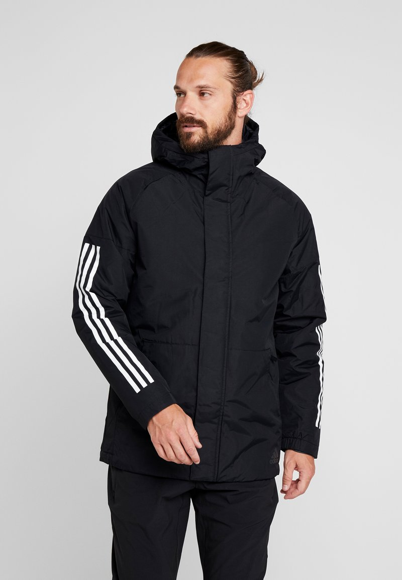adidas Performance - XPLORIC 3-STRIPES WINTER JACKET - Talvitakki - black