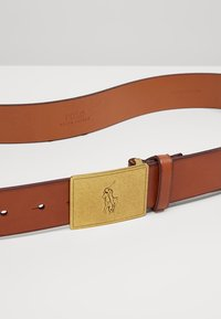 Polo Ralph Lauren - PLAQUE BELT - Cintura - tan - 4